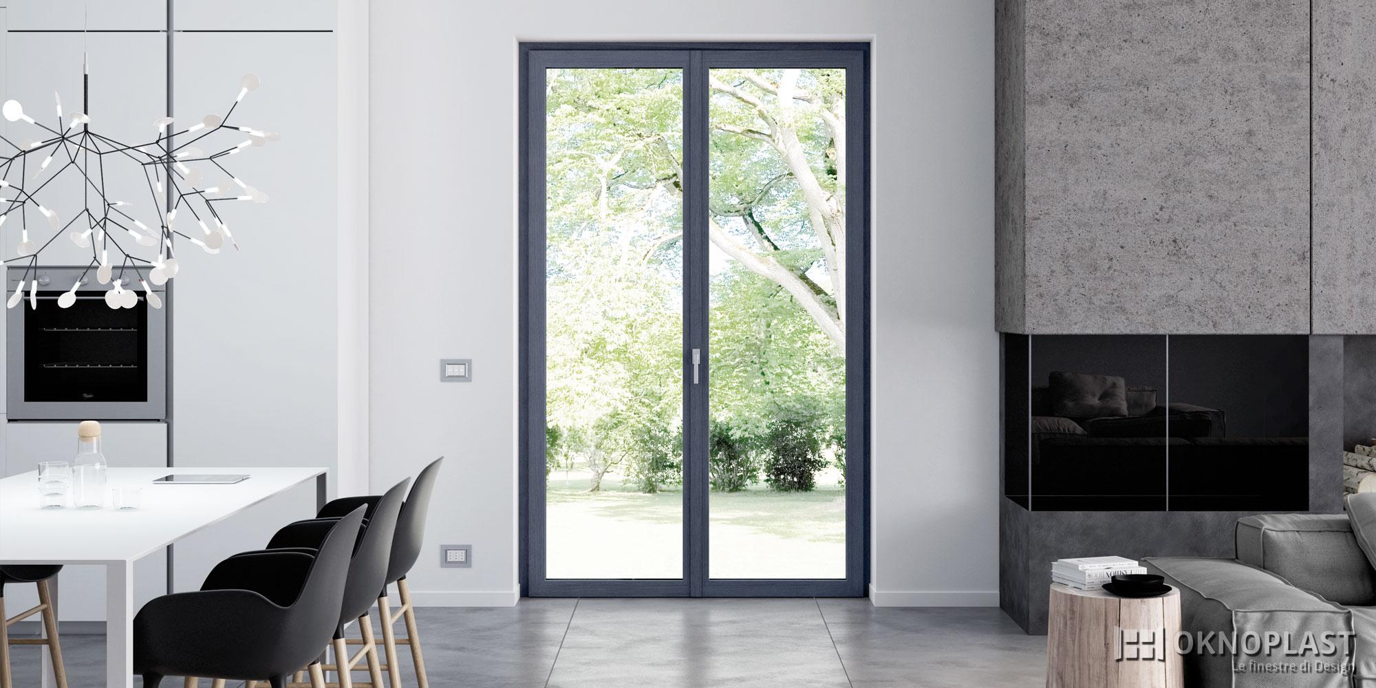La finestra Prolux Evolution. Design e luce al quadrato